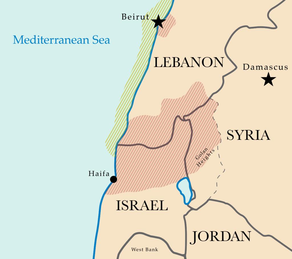 Cartina Politica Del Libano.Il Libano Ricerca La Sua Indipendenza A 100 Anni Dalla Fondazione Msoi Thepost